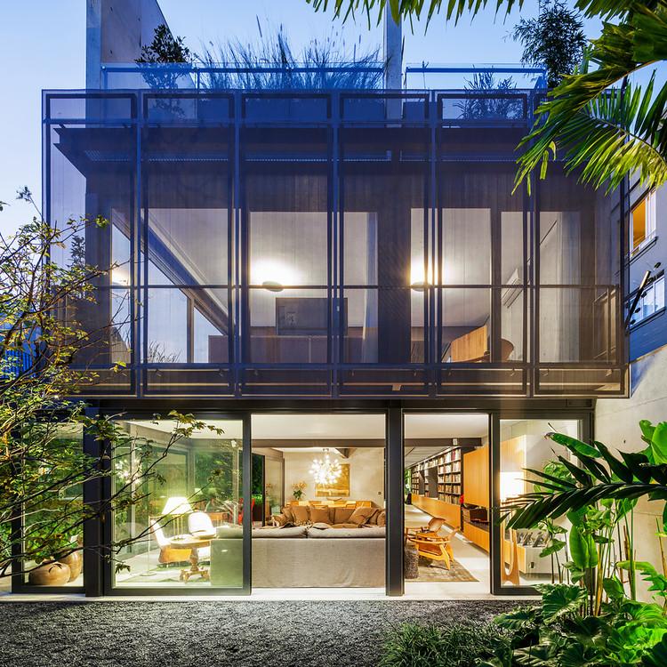 Casa no Jardim Paulistano / GrupoSP, © Nelson Kon