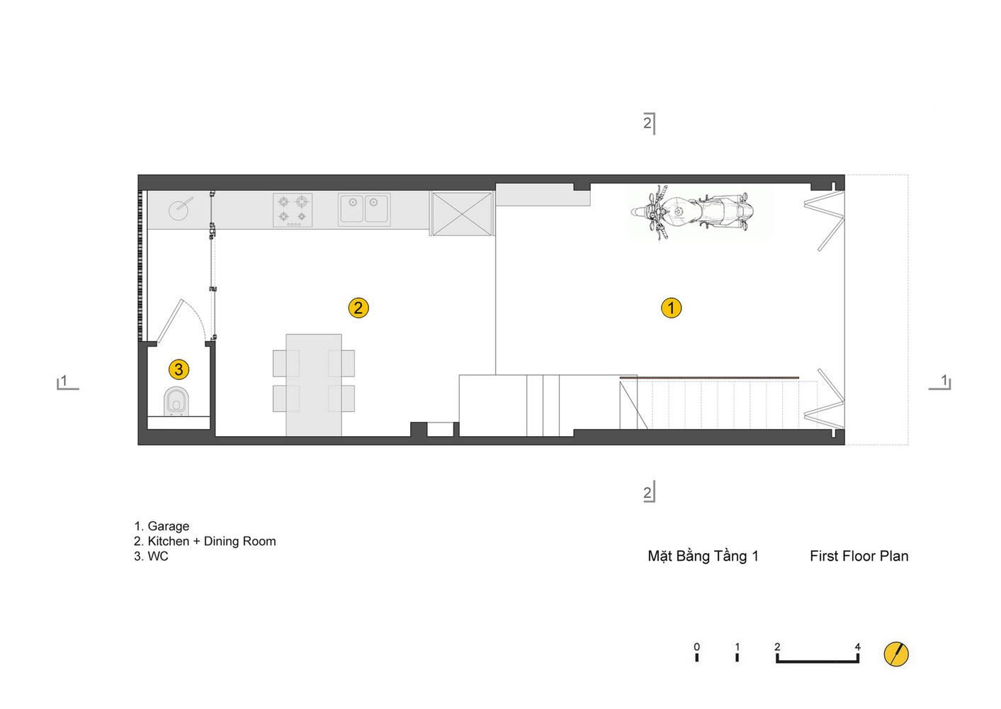 Gallery of qt house landmak architecture 23 qt housefirst floor plan ccuart Images