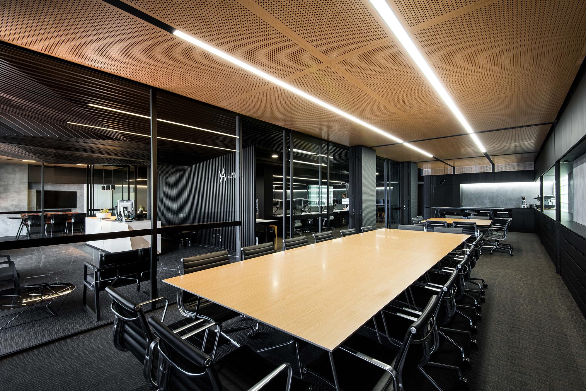 Galeria de escrit rio hillam hillam architects 7 for Modern office design and architecture inc