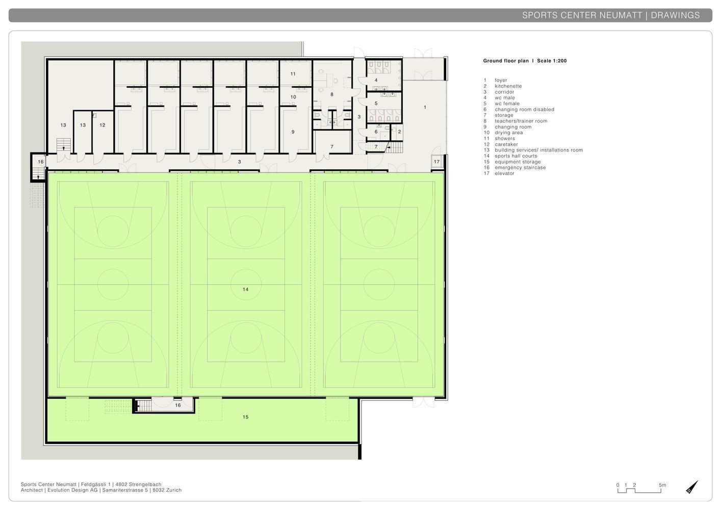 Gallery of Neumatt Sports Center Evolution Design 30