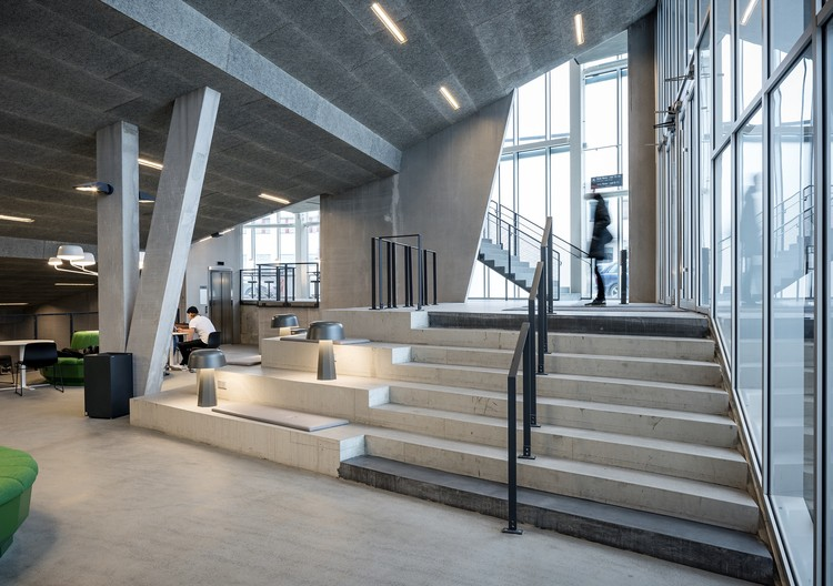 Campus Örebro: Nova House  / Juul Frost Architects, © Felix Gerlach