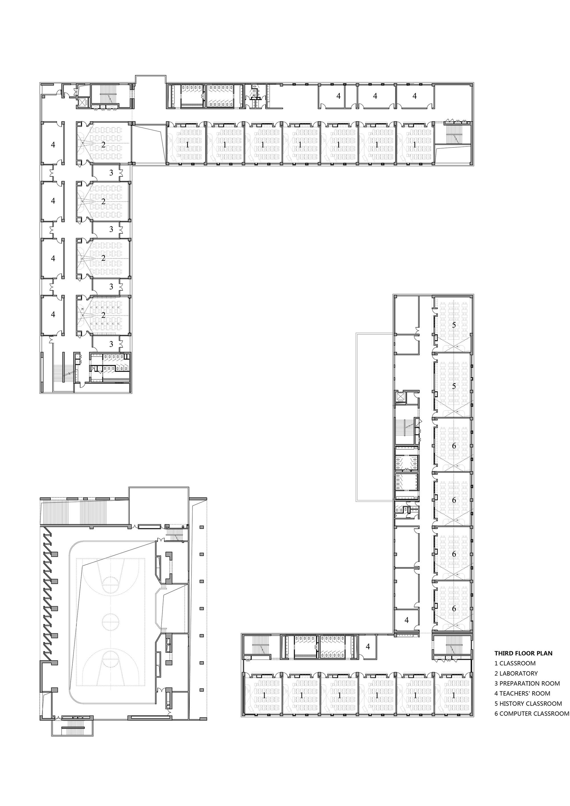 Laboratory Room Design: Gallery Of School With An Open Space / Beijing Institute