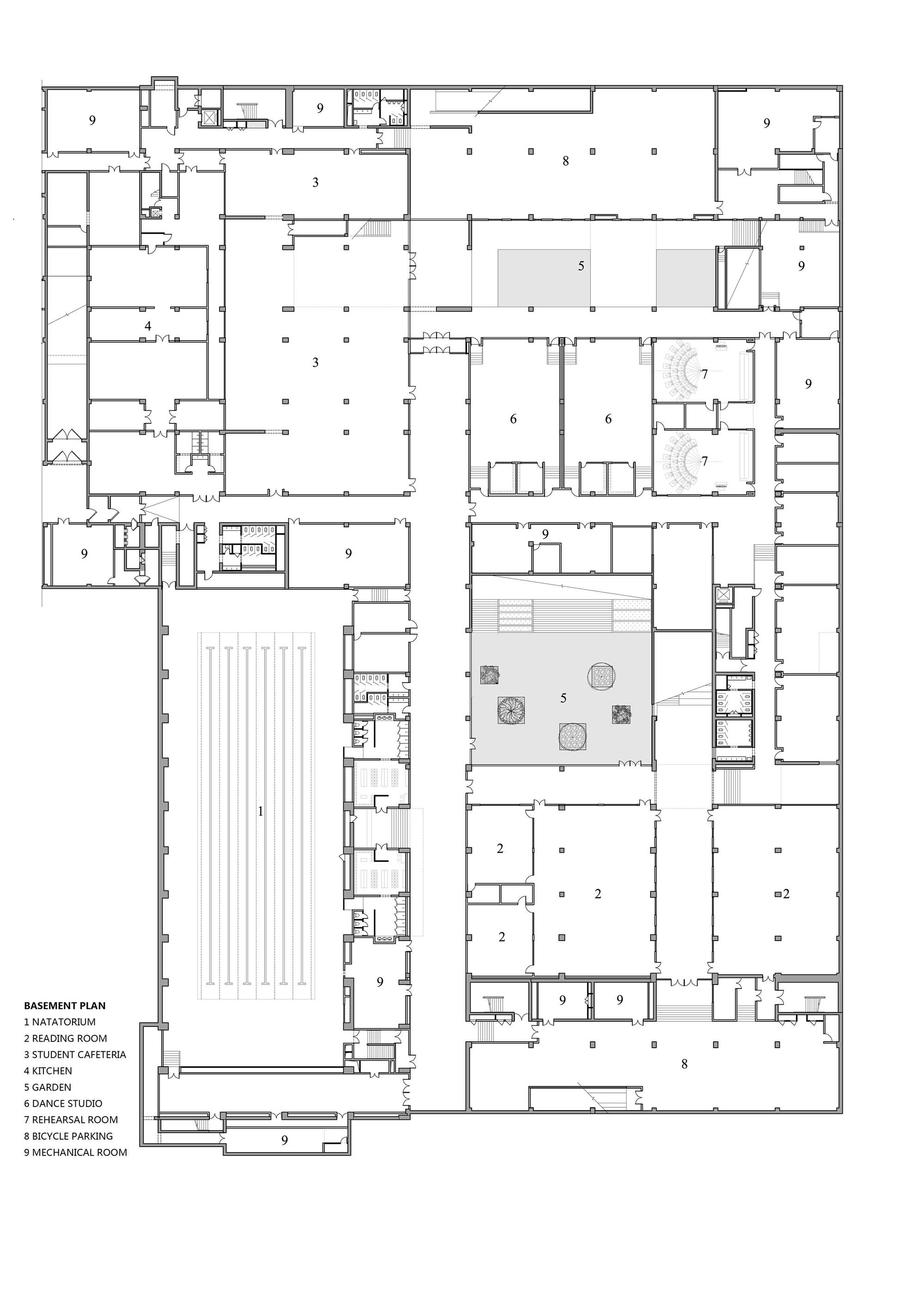 100 Dance Studio Floor Plans Gallery Of William M