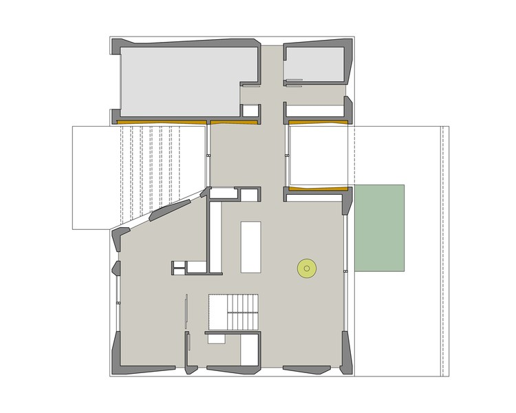 Casa plisada johnsen schmaling architects archdaily m xico for Copying house plans