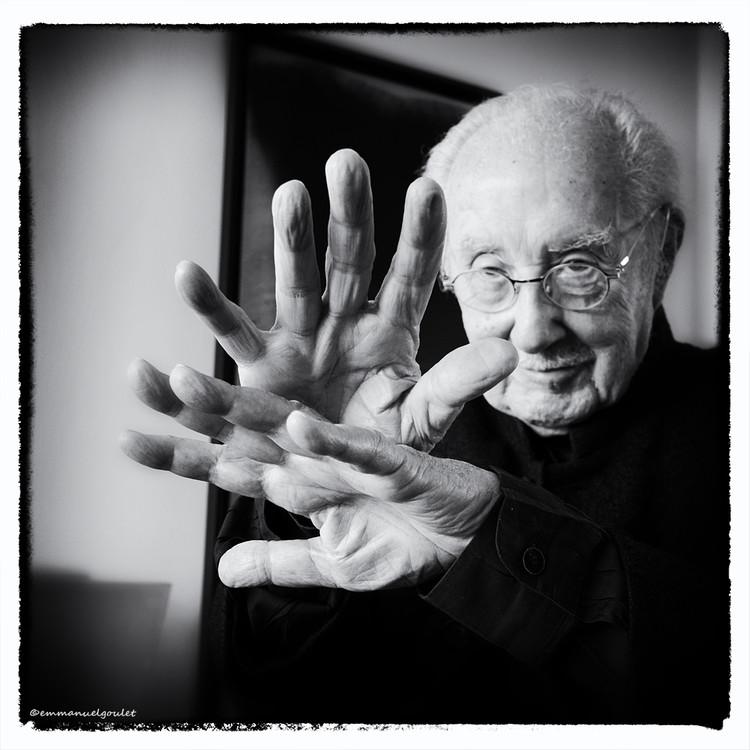 """French """"Utopian"""" Architect Claude Parent Dies Aged 93, Claude Parent. Image © Emmanuel Goulet"""