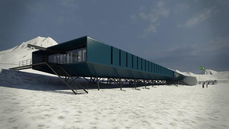 Projeto da Estação Comandante Ferraz é oficialmente lançado na Antártica , Cortesia de Estúdio 41