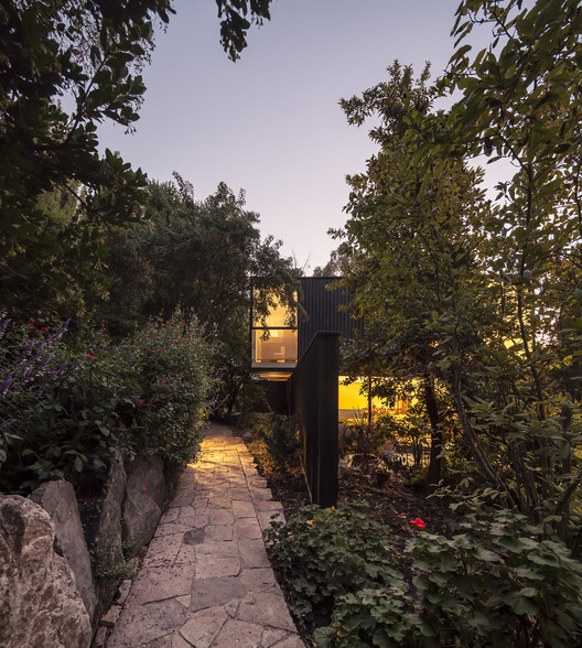 Casa Noguera  / Riesco+Rivera arquitectos, © Aryeh Kornfeld