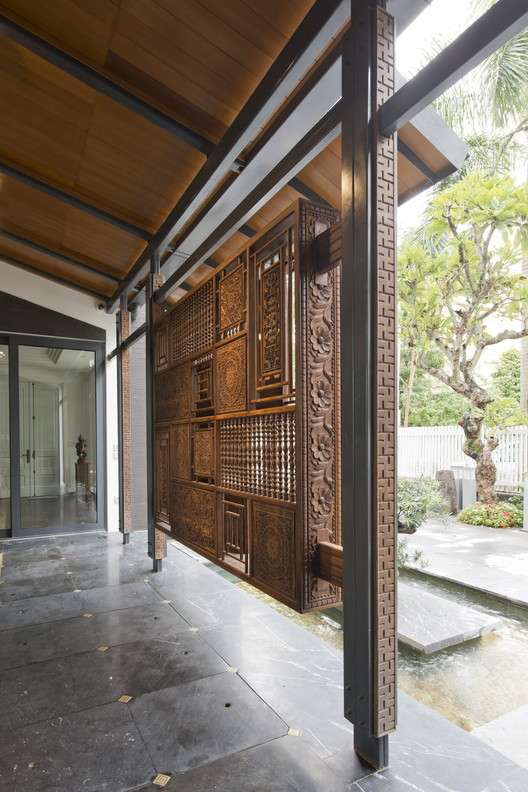 Chic Contemporary Spaces Rendered By Anh Nguyen: The Extend House / Landmak Architecture
