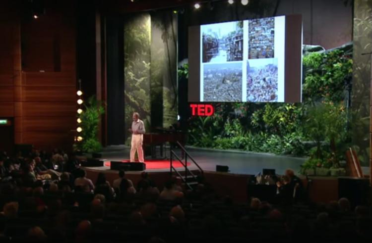 "TED Talk com  Geoffrey West: ""A surpreendente matemática das cidades"""