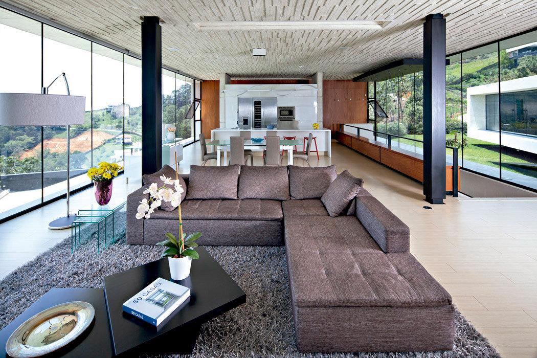 Galer a de casa de aire vidrio l pez montoya for Casa de arquitectos