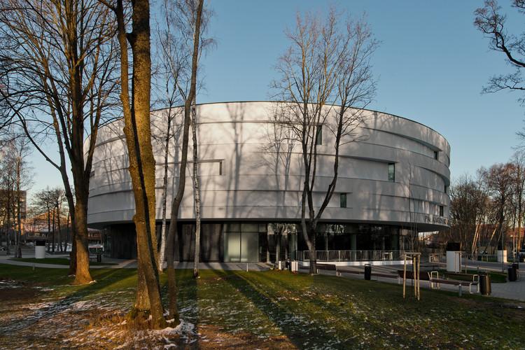 Sala de conciertos Palanga / Uostamiescio projektas, © Leonas Garbacauskas