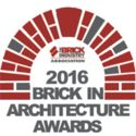 CALL FOR ENTRIES: 2016 BRICK IN ARCHITECTURE AWARDS