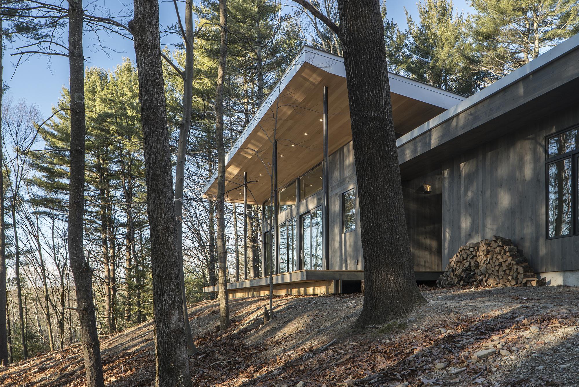 Lantern Ridge House Studio Mm Architect Archdaily