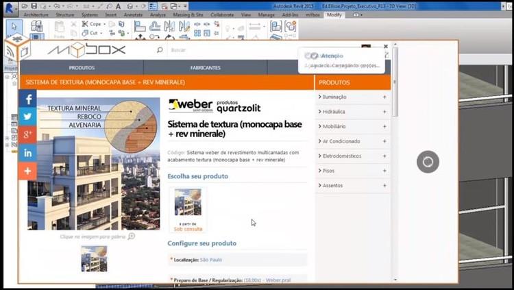 Conheça o Weber-BIM, plataforma criada pela Quartzolit com o acervo digital de seus produtos, via Weber