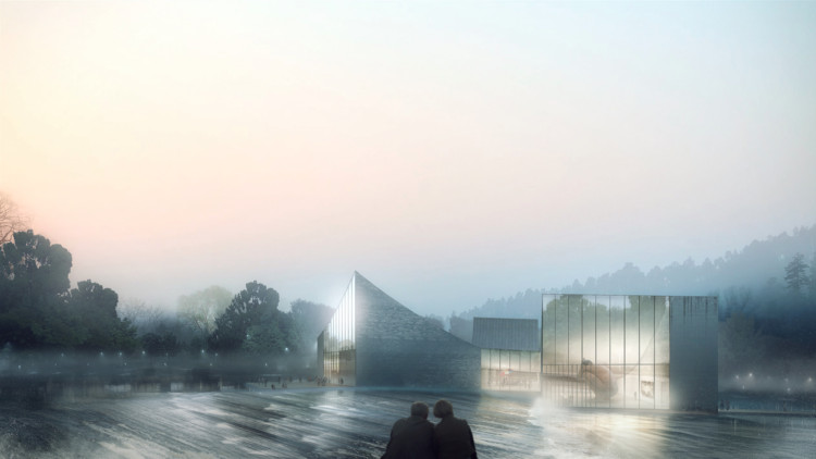 Schmidt Hammer Lassen Breaks Ground on GaoYao Clubhouse and Gallery, © Luxigon