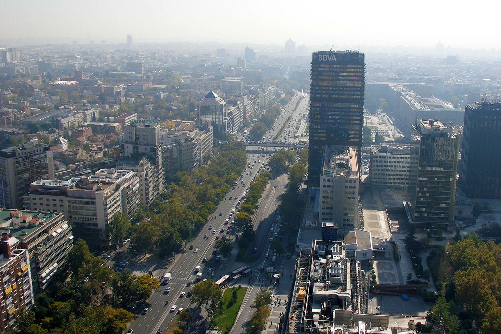 e0666947 Galería de Paseo de la Castellana, Madrid: planean cambiar vías para ...