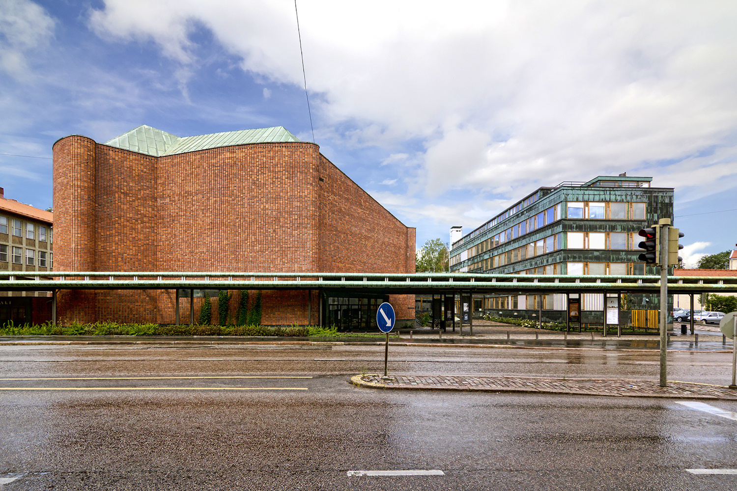 Ad classics house of culture alvar aalto archdaily for Old school house music classics