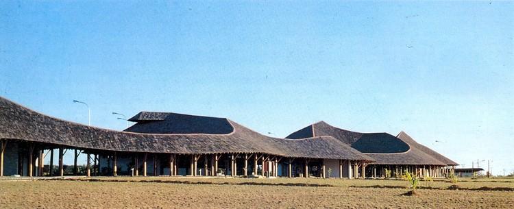 Obras de Severiano Porto são tombadas no Amazonas, Campus da Universidade do Amazonas, 1970-1980. Image © Severiano Porto