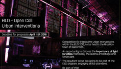 Concurso: Intervenciones Urbanas