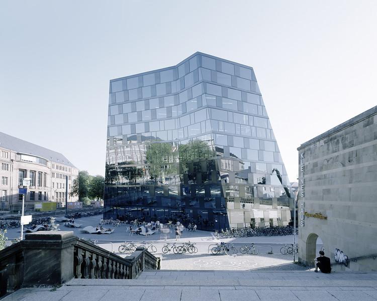 Biblioteca en Freiburg / Degelo Architekten + IttenbrechBühl, © Barbara Buehler