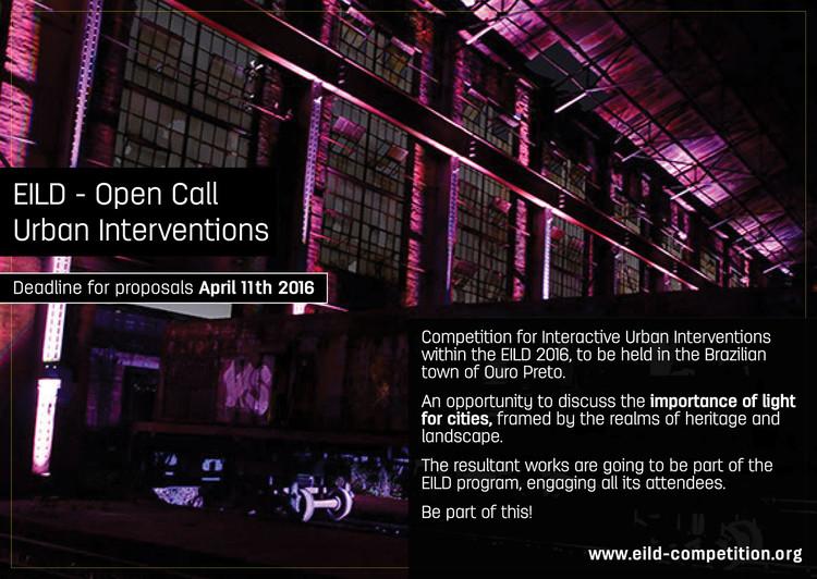 Concurso de Instalações Urbanas para o EILD, Via eild.org
