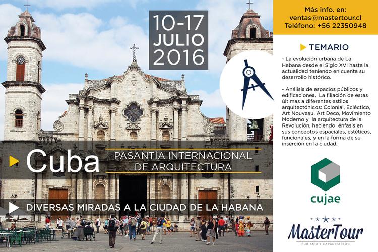 Pasantía Internacional de Arquitectura 'Diversas miradas a la ciudad de La Habana'