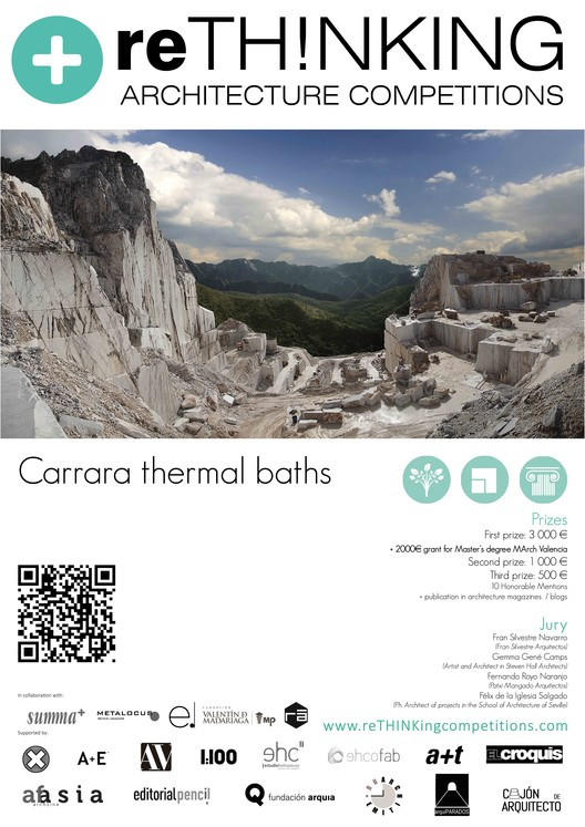 Carrara Thermal Baths, Carrara Thermal Baths_Architecture competitions