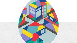 Concurso ArchDaily de design para ovos de Páscoa com temas arquitetônicos