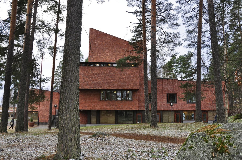 Ad Classics S 228 Yn 228 Tsalo Town Hall Alvar Aalto Archdaily