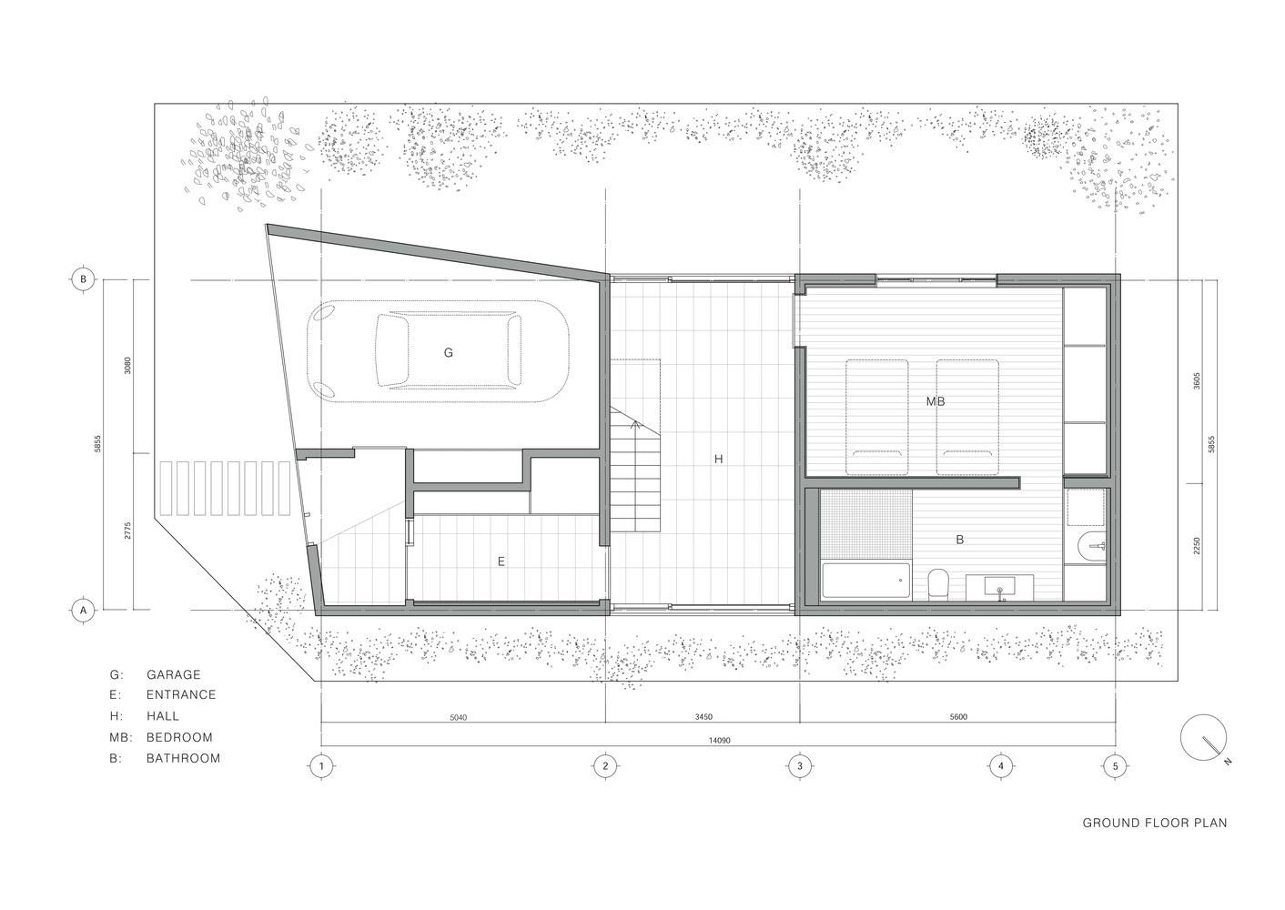 Good U House,Ground Floor Plan