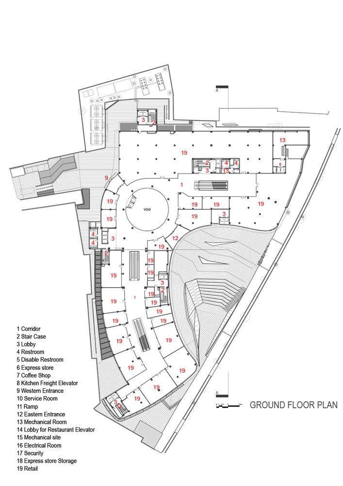 ARG Shopping MallGround Floor Plan