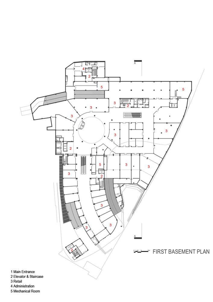 ARG Shopping MallFirst Basement Plan
