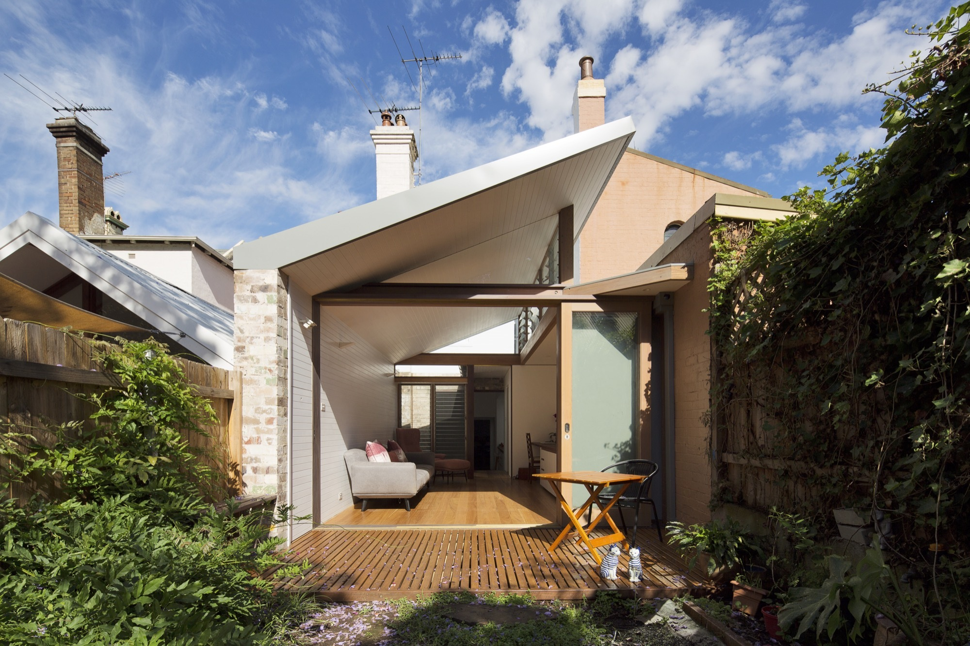 Petersham Courtyard House Adriano Pupilli Architects
