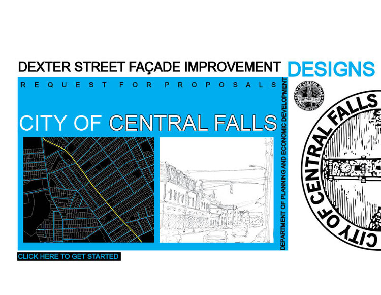 Request for Proposals: Central Falls Dexter Street Façade Improvement Designs