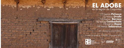 El adobe: exhibición del video educativo y de experiencias de reparaciones post terremoto