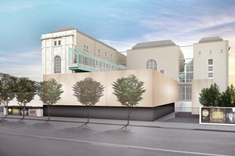 wHY to Expand San Francisco's Asian Art Museum, Proposed. Image © wHY