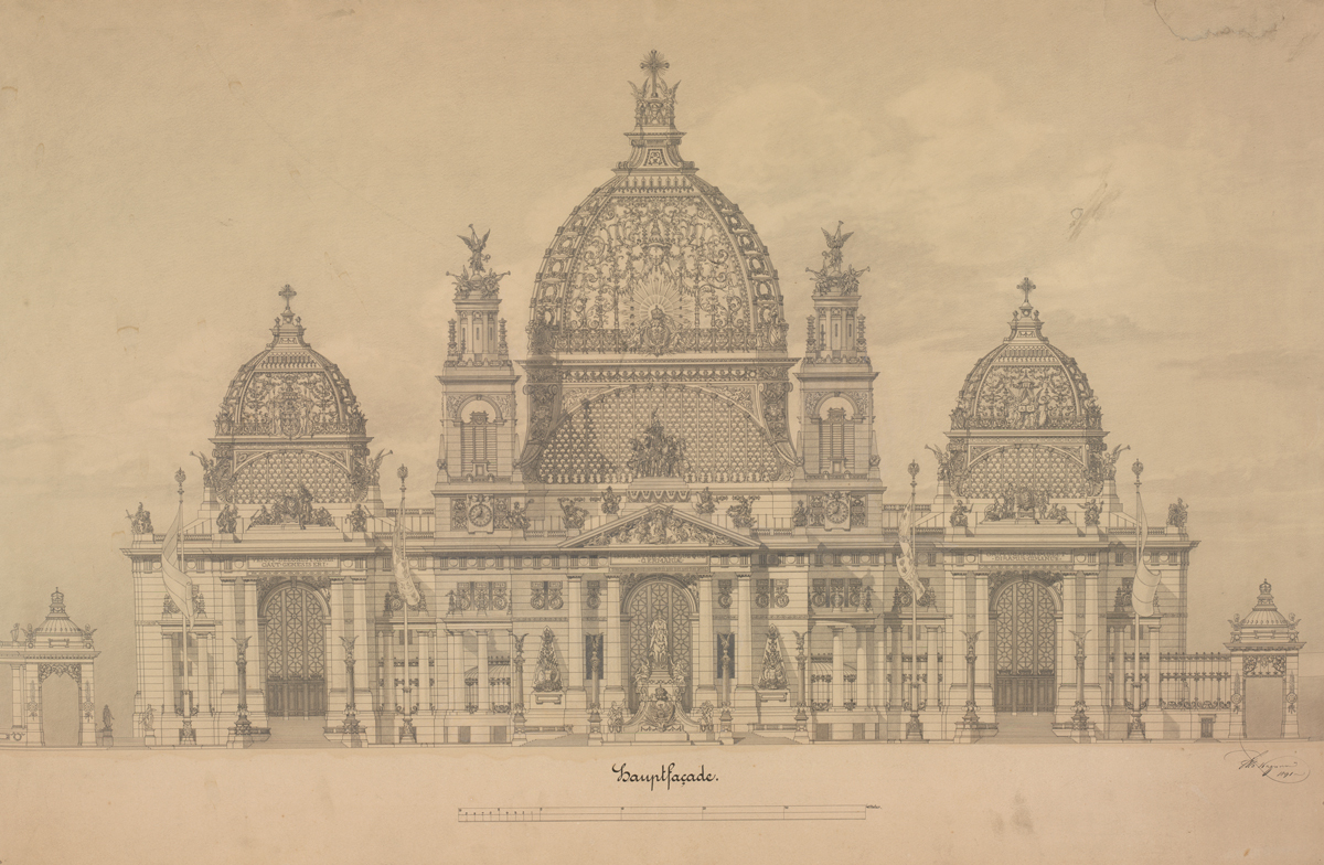 Gallery Of Exhibition Architectural Master Drawings From The