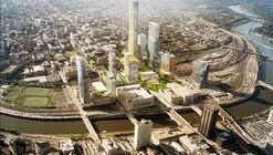 "SHoP and West 8 to Masterplan Philadelphia's ""Schuylkill Yards"""
