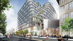 schmidt hammer lassen Designs Mixed-Use Development in Central Stockholm
