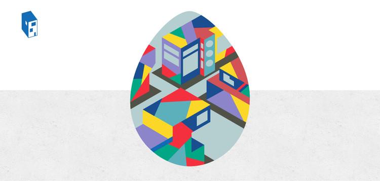 Convocatoria ArchDaily en Español: diseña tu Huevo de Pascua arquitectónico