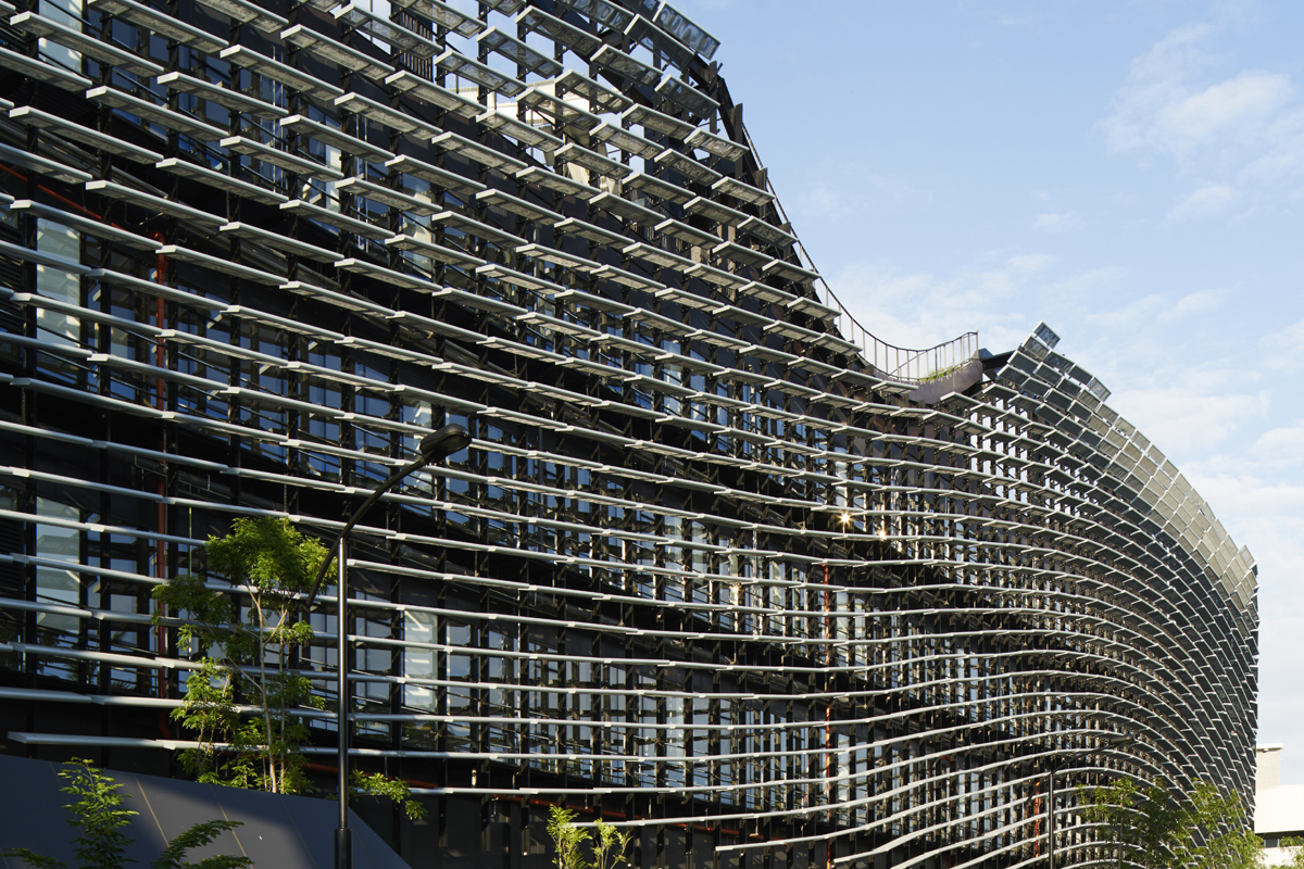 Gallery of itri central taiwan innovation campus exterior for Exterior research and design