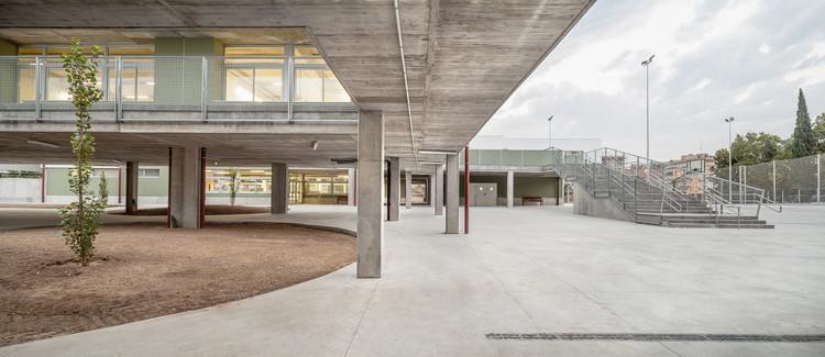 Escuela-Instituto Sant Llàtzer  / Territori 24, © Adrià Goula