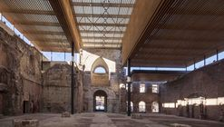 Cubierta Monasterio de San Juan  / BSA