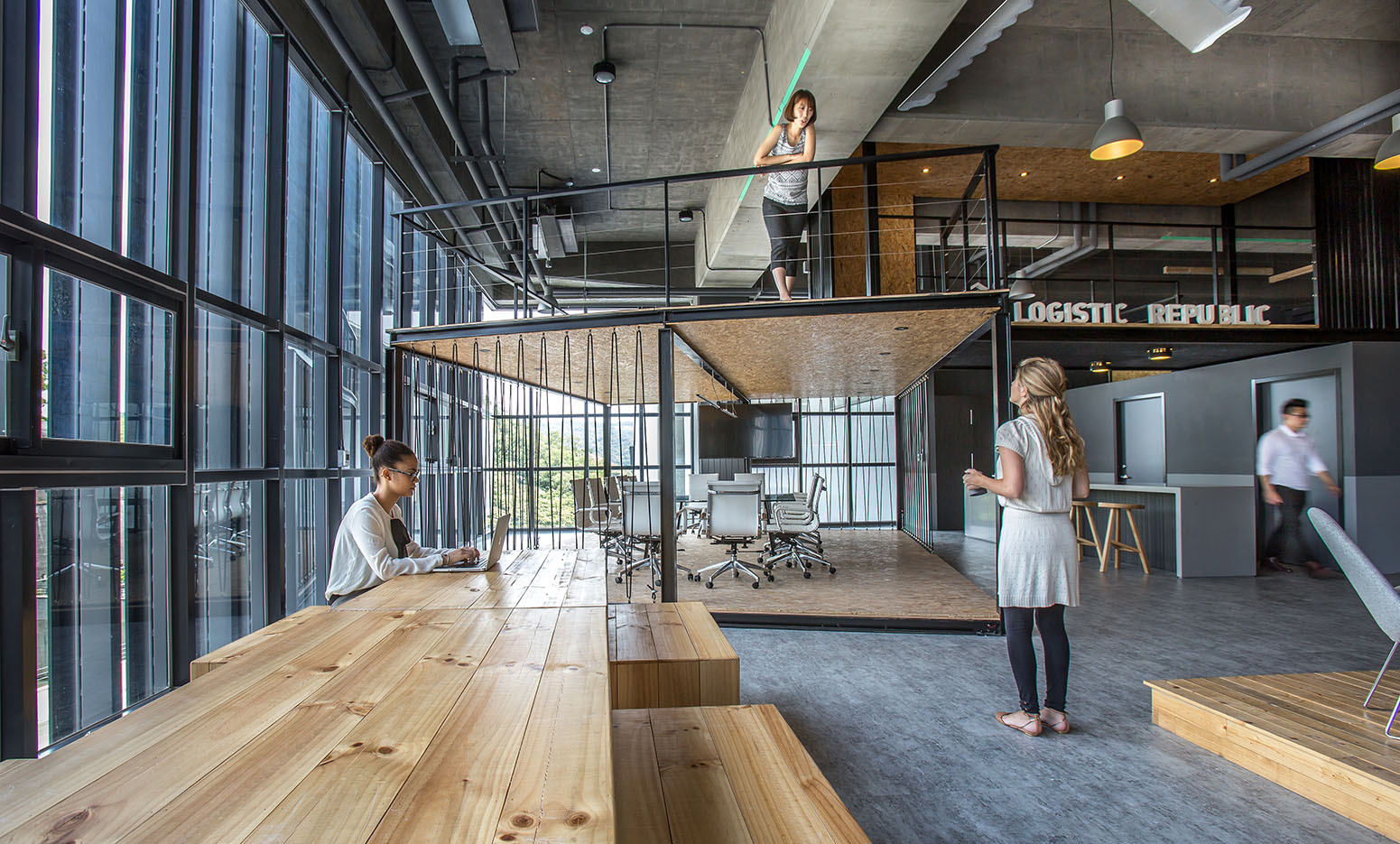 Alp Logistic Office Jc Architecture Archdaily