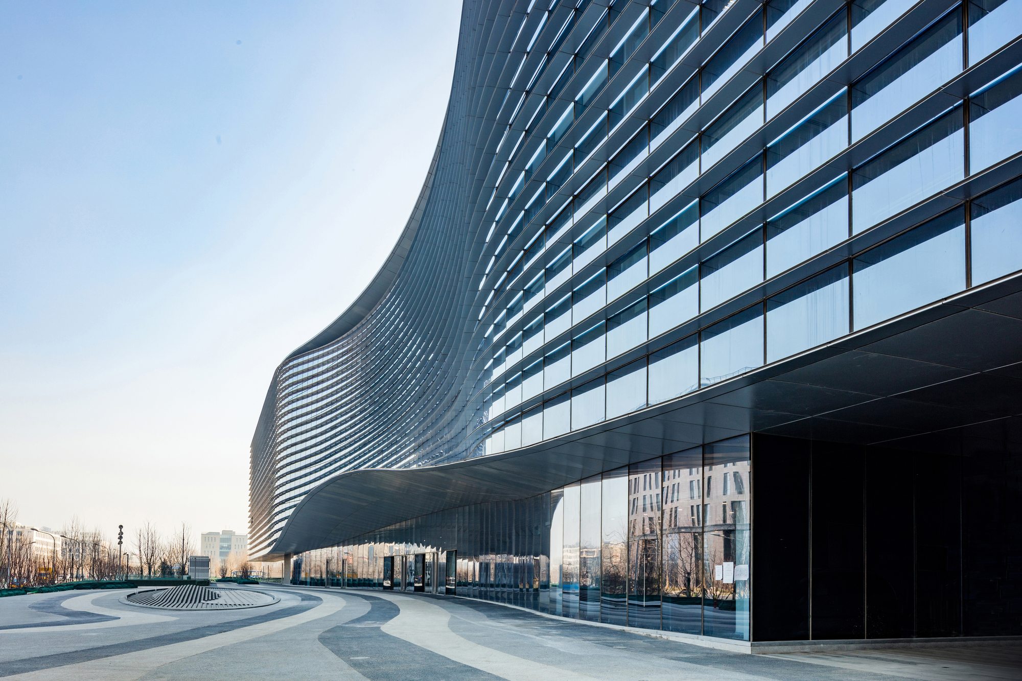 Sina Plaza Beijing Aedas Courtesy Of