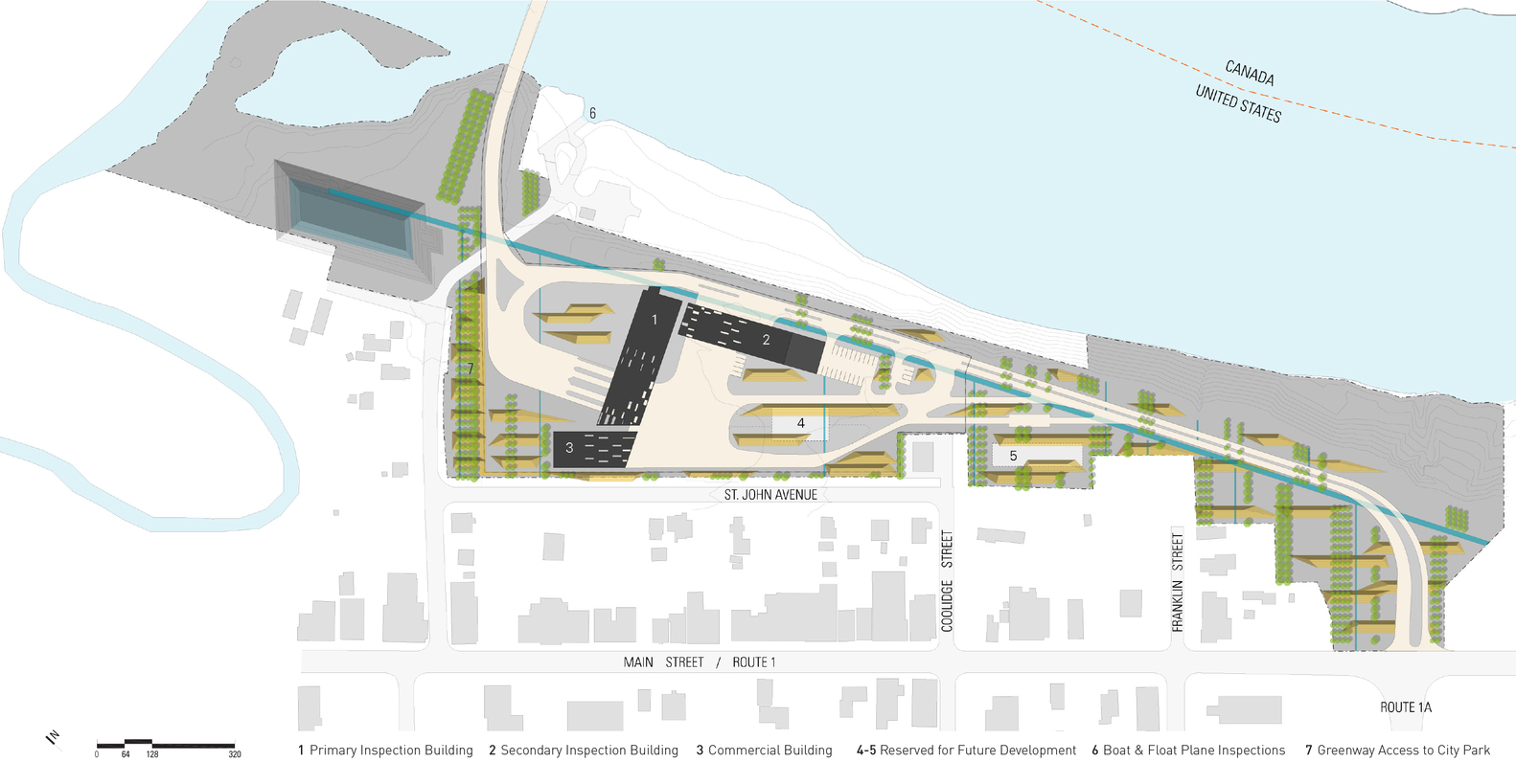 Gallery Of Us Land Port Of Entry Snow Kreilich Architects 15 - Us-ports-of-entry-map
