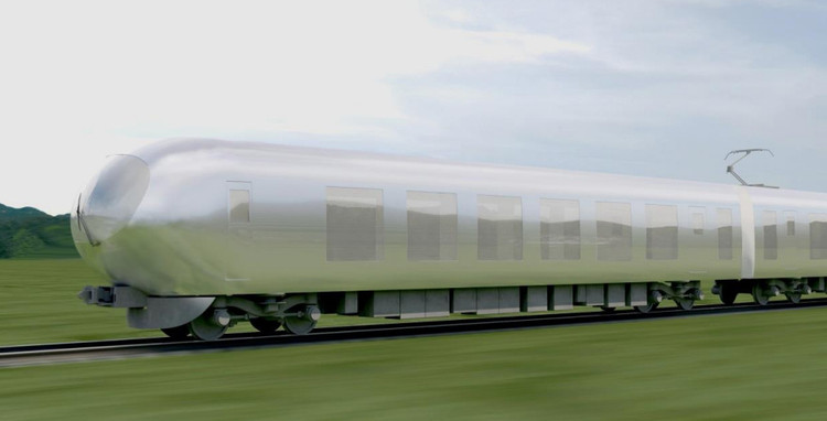 Kazuyo Sejima Designs New Express Train for Japan, © Seibu Railway