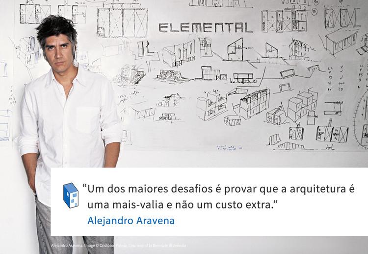 Frases: Alejandro Aravena e os custos da arquitetura