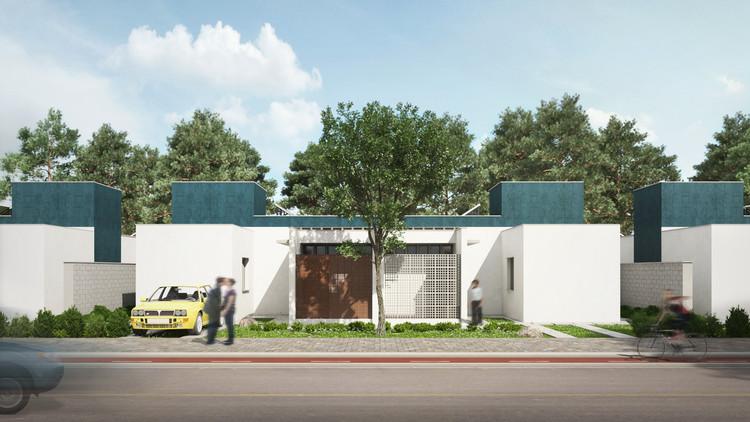 Habitação de Interesse Social Sustentável / 24.7 arquitetura design, Cortesia de 24.7 arquitetura