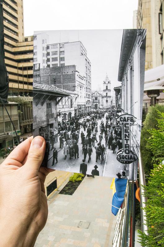 Espacio y alteridad: la imagen de Bogotá a través del tiempo, Carrera Séptima. Image Cortesía de Simón Fique